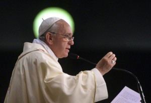 Pope Francis Halo